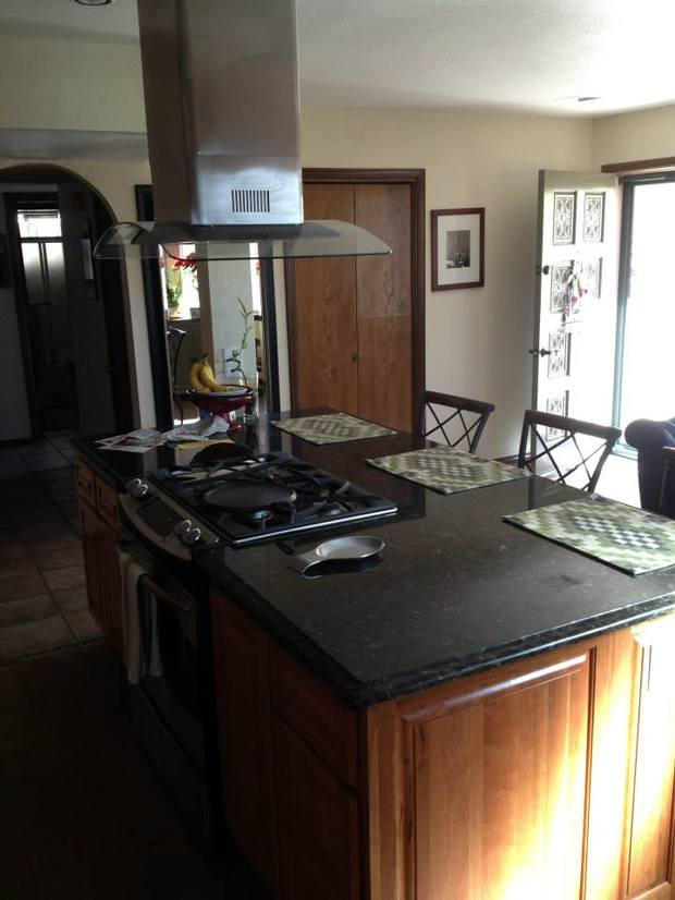 Traditional kitchen in el paso stainless steel with for Kitchen cabinets el paso tx