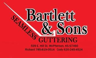 Bartlett Amp Sons Seamless Guttering Wichita Ks 67203