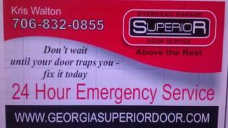 Superior Overhead Garage Door Service Augusta Ga 30906