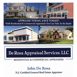 De Rosa Appraisal Services Llc Toms River Nj 08753