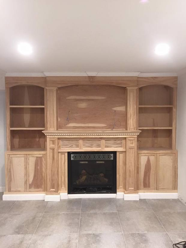 Traditional Fireplace In Yonkers Dentil Moulding Crown