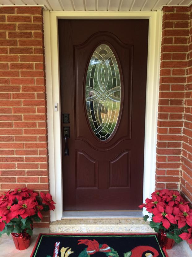 Traditional Porch in San Antonio - vinyl exterior door ...