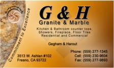 G H Granite And Marble