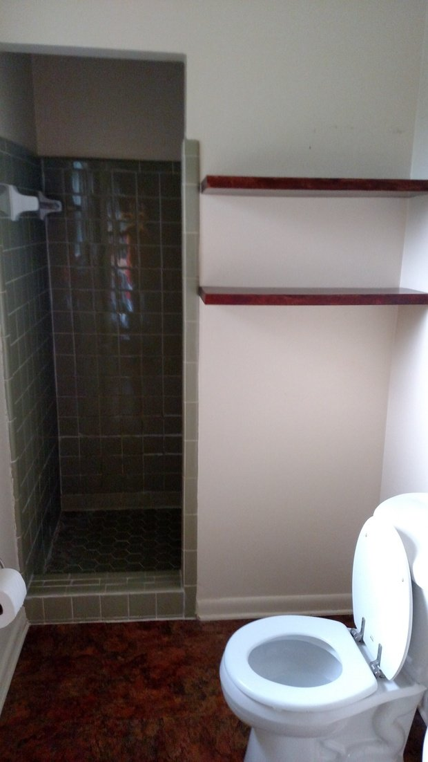 Contemporary bathroom in tallahassee tile shower walls for Bath remodel tallahassee