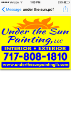 Under The Sun Painting Llc Wrightsville Pa 17368