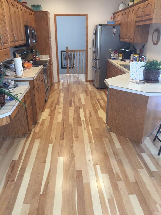 Transitional Kitchen In West Fargo French Door