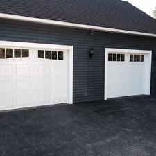 New Haas Garage Door
