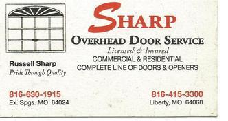 Sharp Overhead Door Service