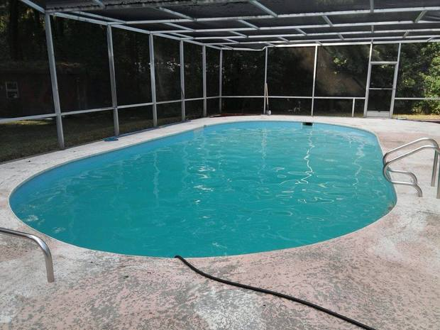 Casual Living Pools : Casual / Comfortable Pool in Saint Augustine - in ground ...