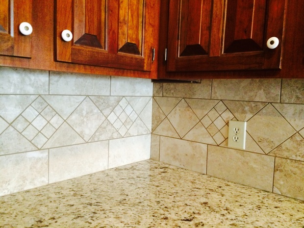 Traditional kitchen in lincolnton wood cabinets raised for Garage door repair lincolnton nc