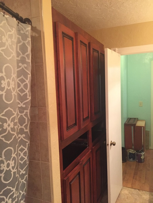 Traditional bathroom in norman raised panel cabinetry for Bathroom remodel norman ok