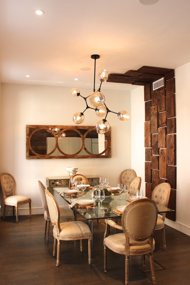 Modern Dining Room in New York abstracted chandelier  : 4504929ddetail from www.homeadvisor.com size 620 x 930 jpeg 209kB