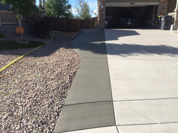Casual Comfortable Driveway In Colorado Springs Narrow