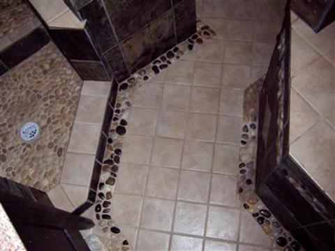 Art Deco Bathroom In Framingham Tile Floor Tile Walls By Genaro