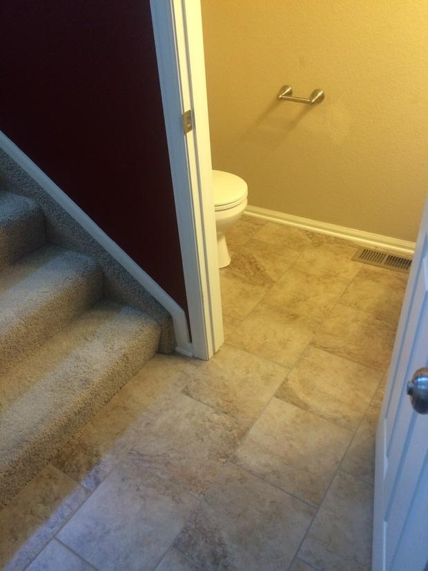 Traditional Bathroom In Colorado Springs White Toilet Tiled Floors By Daystar Tile Llc