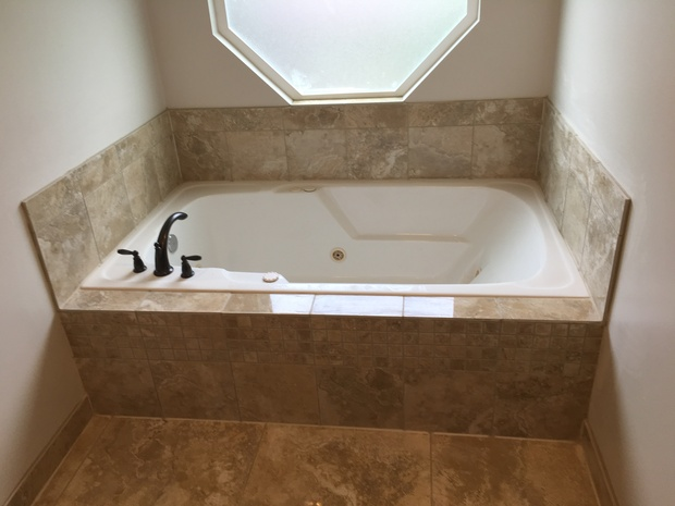 Transitional bathroom in salt lake city jetted tub for Bath remodel salt lake city
