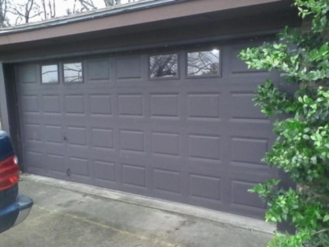 Transitional Garage In Belton Grey Exterior Raised