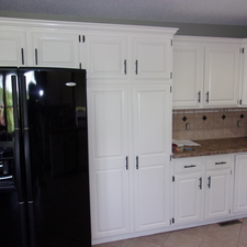 Oak Cabinets To Whit.
