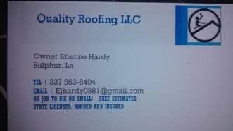Quality Roofing Llc Sulphur La 70663 Homeadvisor