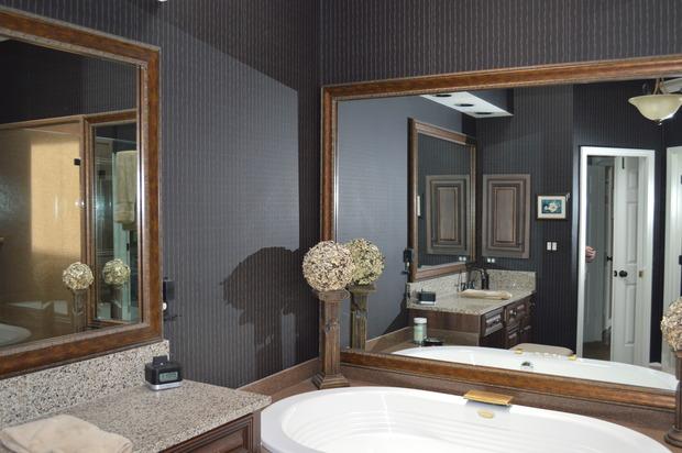 English bathroom in nashville over mount tub spa tub for Bath remodel nashville tn