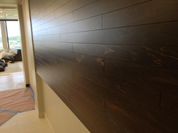 Elevation Wood Flooring : Contemporary hallway in castle rock tile floor darkly