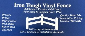 Iron tough vinyl fence oklahoma city ok 73129 homeadvisor save 10 on 4 tall black aluminum save 10 solutioingenieria Choice Image