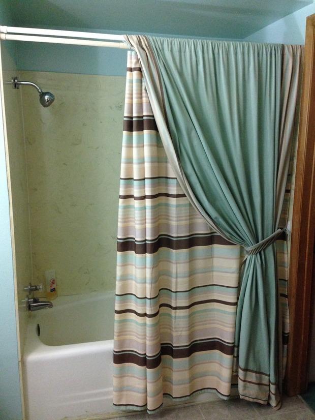 Traditional Bathroom In Beaumont Sea Foam Green Wall