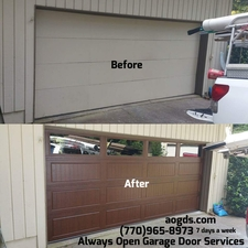 Photos. Always Open Garage Door ...