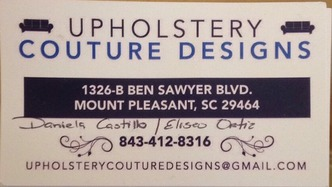 Upholstery Couture Designs | Mount Pleasant, SC 29464 - HomeAdvisor