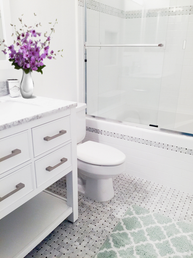 Modern bathroom in torrance frameless glass shower door for How much is a bathroom worth on an appraisal