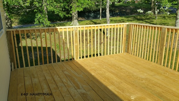 Casual Comfortable Deck In Middletown Outdoor Living