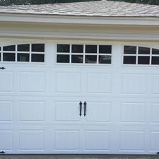 New Garage Door.