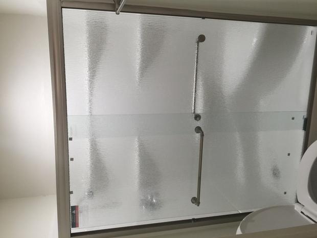 Transitional Bathroom In Chula Vista Framed Shower Door