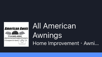 all american awnings santa ana ca 92707 homeadvisor