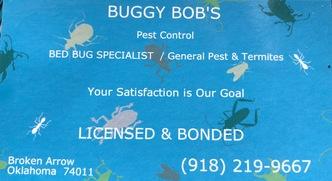 Buggy Bob S Pest Control Broken Arrow Ok 74011