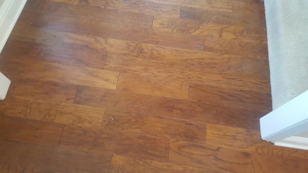 Traditional Entry In Fort Worth Stained Wood Floor