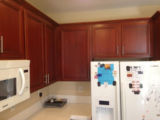 Casual Comfortable Kitchen In Santa Clarita Brushed Nickel Hardware Beige Paint By Eric Labat