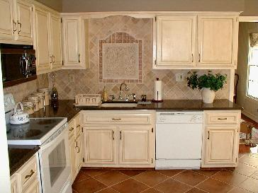 Antiquing Kitchen Cabinets - cosbelle.com
