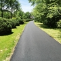 Traditional Driveway with paved driveway