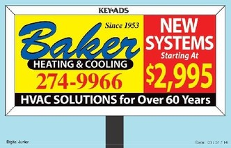 Baker Heating Amp Cooling Dayton Oh 45405 Homeadvisor