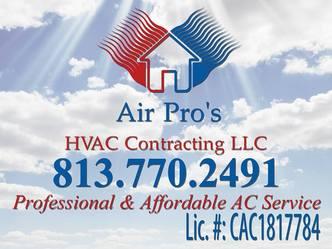 Air Pro S Hvac Contracting Llc Brandon Fl 33511