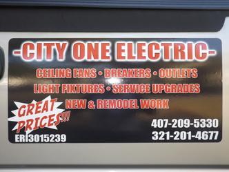 City One Electric Llc Orlando Fl 32835 Homeadvisor