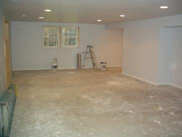 dirt floor to finished basement pictures and photos