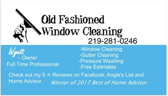 Old Fashioned Window Cleaning Hobart In 46342 Homeadvisor