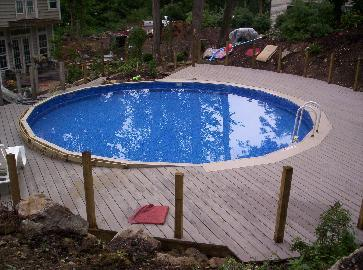 Deck Around Swiming Pool Pictures And Photos
