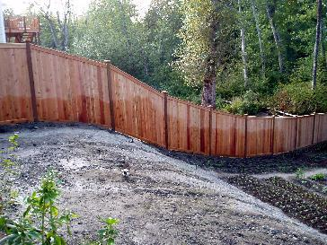 6 Cedar Fence Pictures And Photos