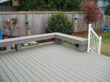 Evergrain Composite Deck With Regal Railing Pictures And