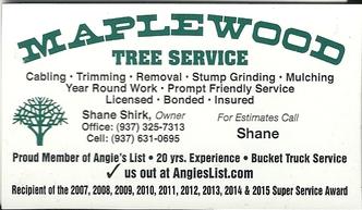 Maplewood Tree Service Columbus Oh 43204 Homeadvisor