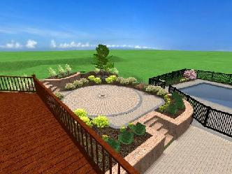 Raised Patio Pictures And Photos