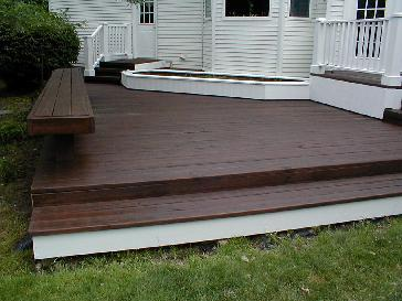 Hudson Exterior repaint/Deck stain & Seal Pictures